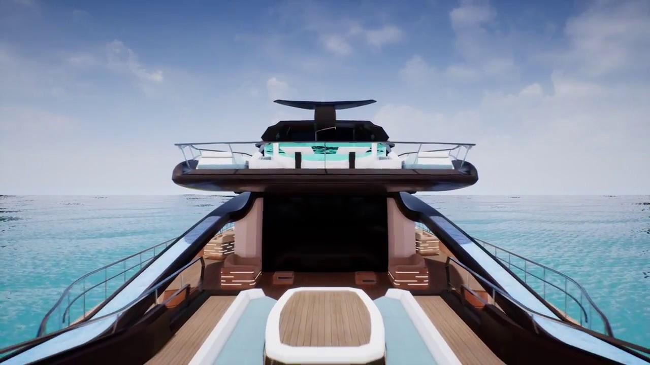 Aquavirgo Realtime Rendering Yacht Design Qdu