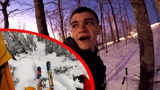 I'M IN THE TREES! *Skiing Gone Wrong*