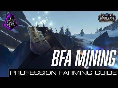 Ore (Mining) Farming Guide (WoW BfA Beta)