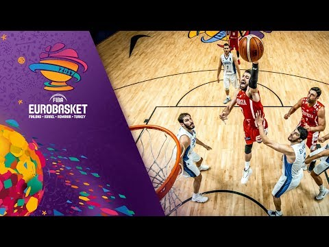 Israel v Georgia - Full Game - FIBA EuroBasket 2017