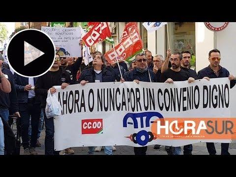 🎥 Trabajadores de Acerinox protestan en Algeciras por la mejora del convenio