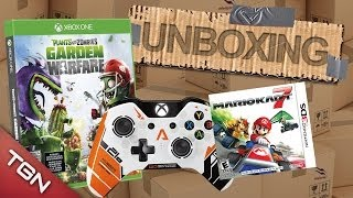 UNBOXING ESPECIAL: TITANFALL XBOX ONE GAMEPAD, PLANTS VS ZOMBIES & MARIO KART 7