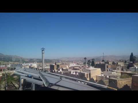 Fez the old medina city morocco