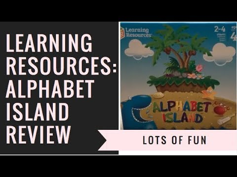 LEARNING RESOURCES: ALPHABET ISLAND REVIEW
