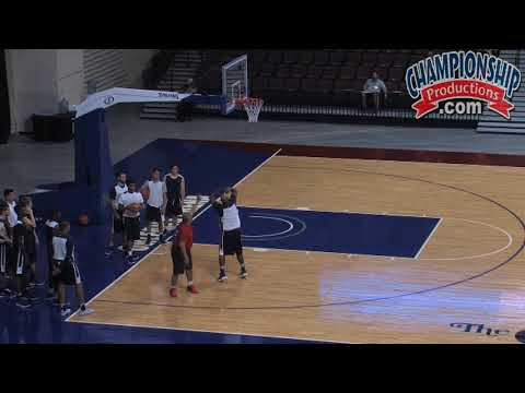 3's, 2's, and 1's Basketball Drill from Marvin Menzies!