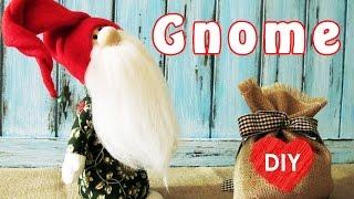 How to sew a Gnome. Christmas DIY 🎄🎄🎄.