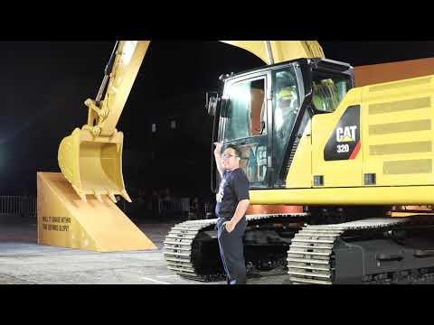 Monark Cat Excavator 320 & 320GC Launch By Megabitescomph