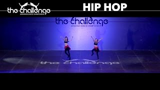 Hip Hop Duo Junior | Svergunova Anastasiya & Zagorodnyaya Anna | The Challenge 2015