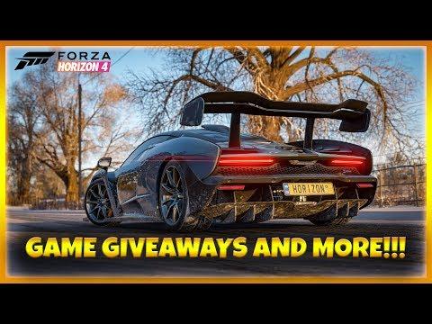 Forza Horizon 4!!! Game Giveaways and More!!! thumbnail