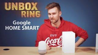Apple VS Google?   Google HOME SMART   Unbox Ring apžvalga