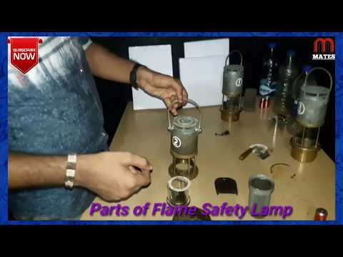 Flame Safety Lamp // How To Open And Fitting // GL-7//How To Make Testing Flame In Gas Chamber?