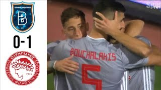 Istanbul Basaksehir vs Olympiacos 0-1 All Goals & Highlights 07/08/2019 - UEFA Champions League