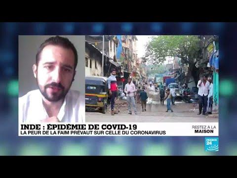 Pandémie de Covid-19: En Inde, la peur de la faim prévaut sur celle du coronavirus