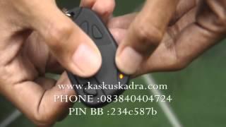 jual kamera pengintai CarKey spycam murah Micro SD hitam.wmv