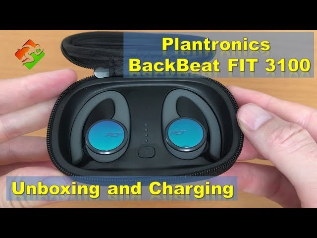 Plantronics Backbeat Fit 3100 Wireless Earbuds Unboxing And Charging Youtube
