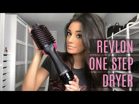 REVLON ONE-STEP HAIR DRYER | Review & Tutorial