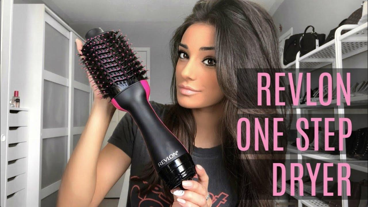 Revlon One Step Hair Dryer Review Tutorial Youtube