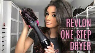 REVLON ONE-STEP HAIR DRYER | Review & Tutorial
