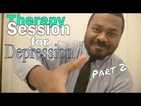 "ASMR Psychologist Roleplay ""Therapy Session for Depression Part 2"" Pen Writing Sounds & Paper Sounds"