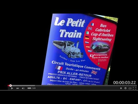 Le Petit Train à Juan les Pins  - Antibes, The Little Train