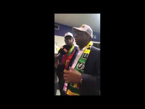 Macky Sall dans le vestiaire des lions après la victoire - Way li rafétt na way - Regarder