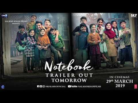 Notebook | Trailer Out Tomorrow | Zaheer Iqbal | Pranutan Bahl | Nitin Kakkar | 29th March 2019