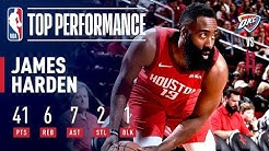 James Harden's 41 POINT Performance On Christmas | December 25, 2018