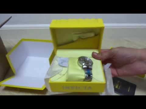 UNBOXING Relógio Invicta Masculino Vintage 22573