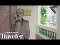 The Singapore Sling at the Long Bar in Raffles Singapore   Condé Nast Traveler