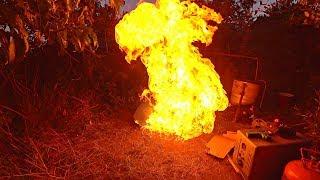 ✅Добываю газ Самогонным Аппаратом 🔥 Бесплатное топливо из МУСОРА