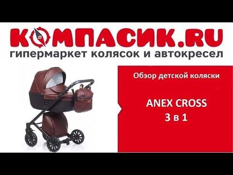 Вся правда о коляске Anex Cross. Обзор детских колясок от Компасик .