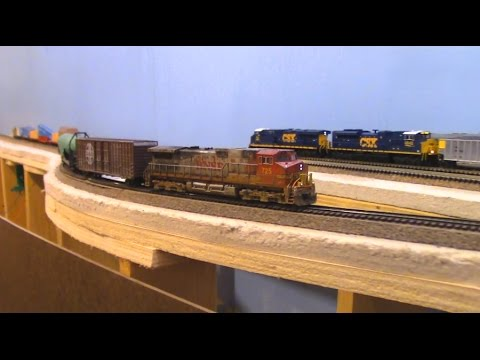 N Scale: Home Layout Special Of The Feather River RR II