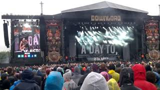 A Day To Remember-The Downfall Of Us All (Live at Download Festival 2015! HD!!!)