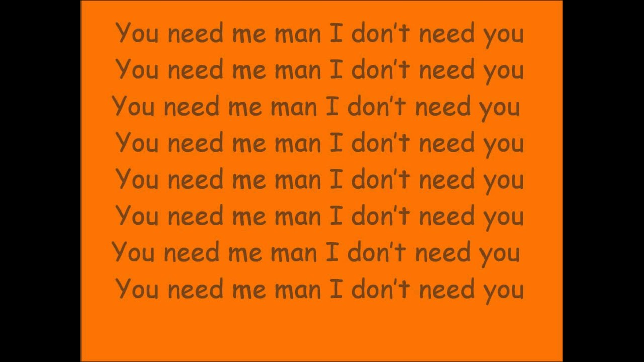 Ed Sheeran - You Need Me, I Don't Need You captured in the ...