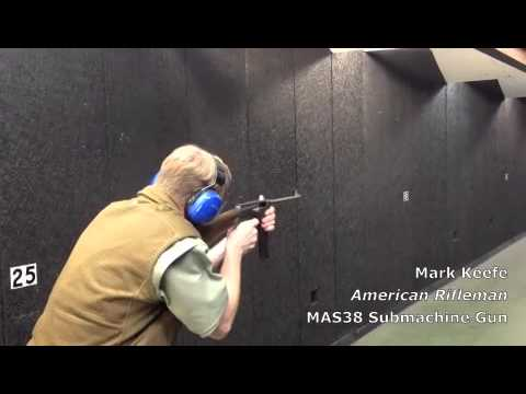 American Rifleman TV: MAS38 Submachine Gun Pt. 1