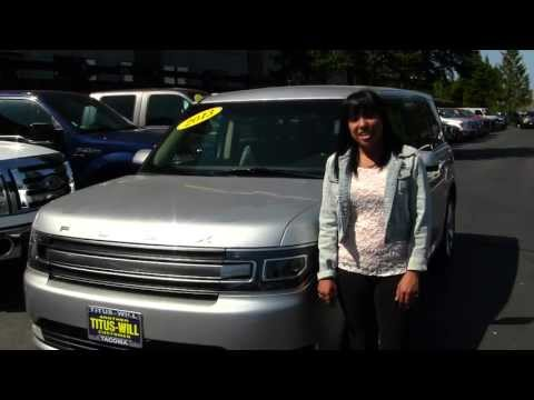 Virtual Walk Around Tour of a 2013 Ford Flex at Titus Will Ford in Tacoma