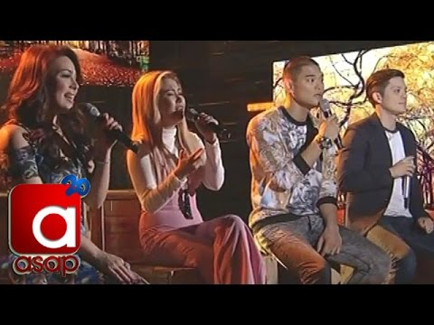 Acoustic rendition of 'Love Me Tender' by Yeng, KC, Jay-R & Bamboo
