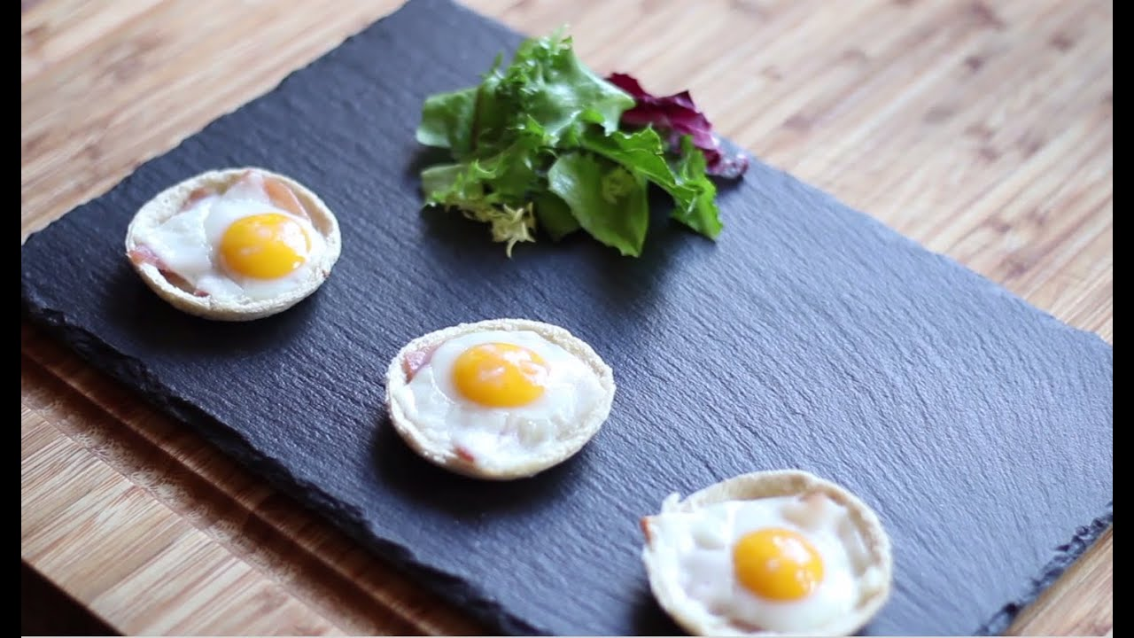 Facilisimo Cocina | Tartaletas Con Beicon Y Huevo De Codorniz Facilisimo Com Youtube