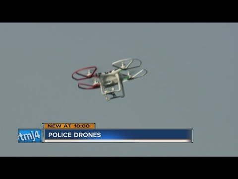 Local police department uses drones to fight crime