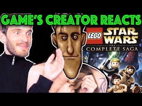 PEWDIEPIE Plays My Game BADLY (LEGO Star Wars) - But Is It Poor Design?