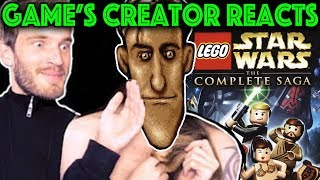 PEWDIEPIE so Bad at My LEGO game - But is it poor design? (My Reaction)
