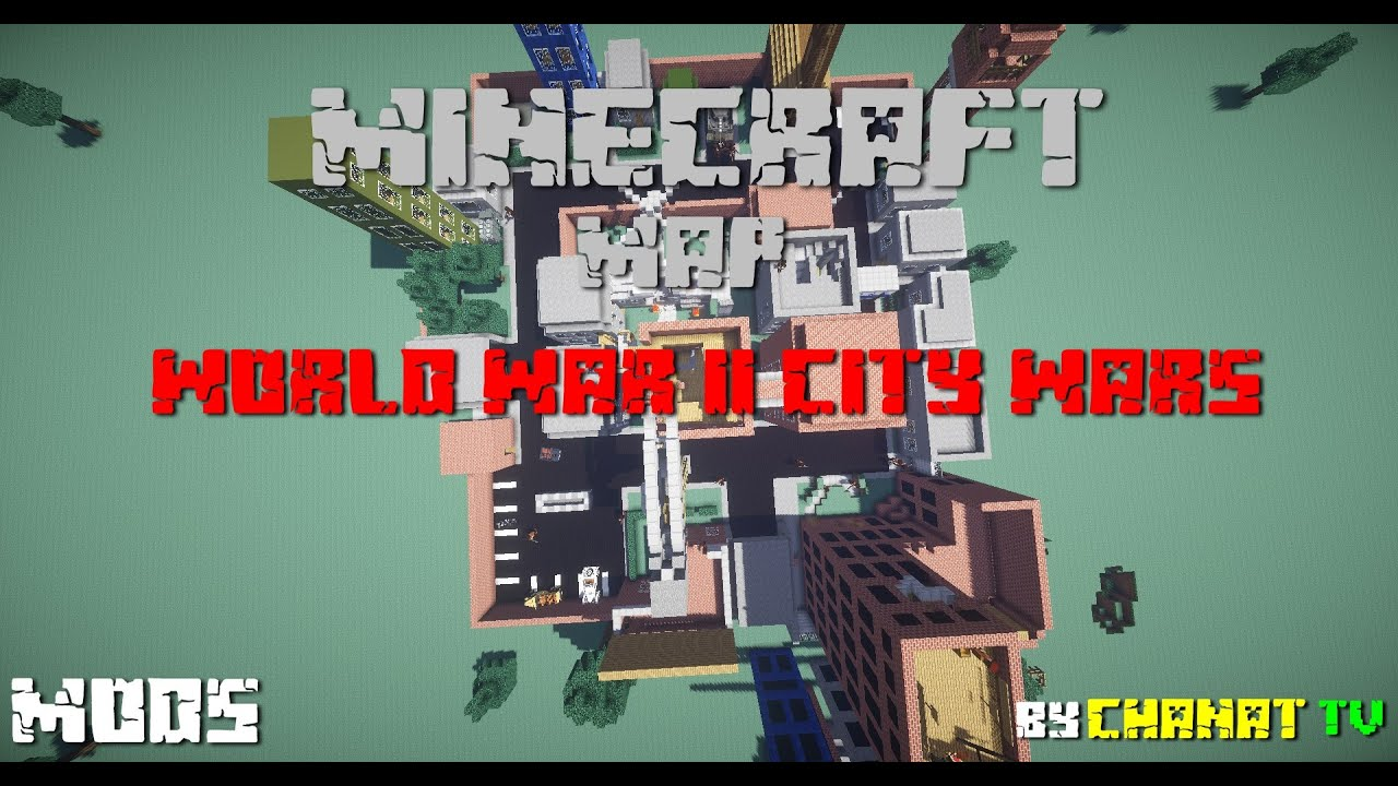 Minecraft preview world war ii city wars maps youtube minecraft preview world war ii city wars maps sciox Image collections
