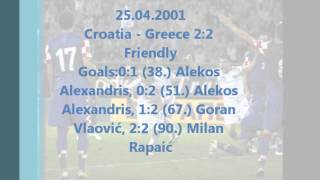 Croatia - Greece 2-2 (25.04.2001)