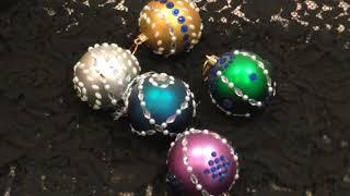 С Фикс Прайсом делаем авторские новогодние шары.