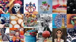 Todas la artesanías que Puebla Tiene para tí