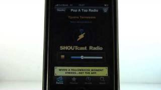 iPhone apps - SHOUTcast Radio