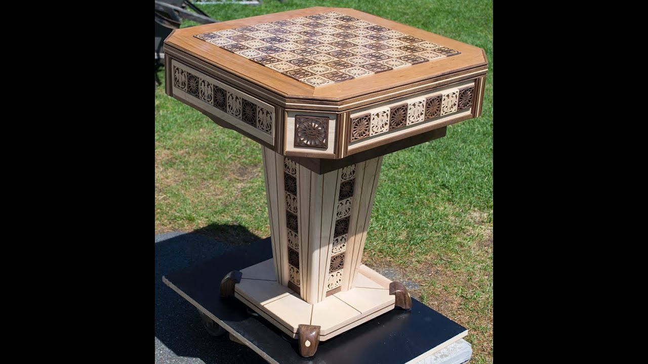 Making A Chess Table Part 2