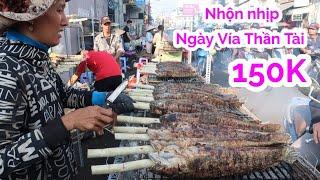 Phố cá lóc nướng ngày vía Thần Tài náo nhiệt nhất Sài Gòn