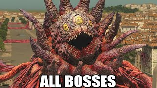Serious Sam 4 - All Bosses (With Cutscenes) HD 1080p60 PC