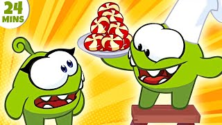 Om Nom Stories COOKING TIME | Cut The Rope New Season 6 | Funny Cartoons for Kids
